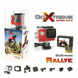 GoXtreme Rallye Red Action Camera Waterproof crvena sportska akcijska kamera vodootporna do 30m (20126)