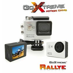 GoXtreme Rallye Silver Action Camera Waterproof srebrena sportska akcijska kamera vodootporna do 30m (20125)