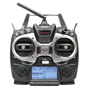 Graupner MZ-12 HoTT 2.4GHz 6 CH transmitter 6-Channel Radio Controller daljinski upravljač
