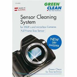Green Clean Sensor Cleaning System PROFI KIT Full Frame New Dry Sweeper komplet za čišćenje senzora 1x G-2051 + 1x V-3000 Mini Vacuum + 2x SC-4050 3x SC-4060 Wet&Dry + 1x Silky Wipe (SC-6000)