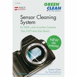 Green Clean Sensor Cleaning System PROFI KIT APS-C New Dry Sweeper komplet za čišćenje senzora 1x G-2051 + 1x V-3000 Mini Vacuum + 2x SC-4050 3x SC-4070 Wet&Dry + 1x Silky Wipe (SC-6200)
