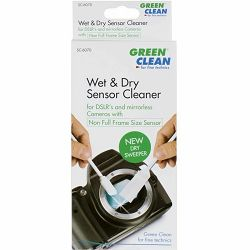 Green Clean WET Foam & NEW DRY Sweeper non-Full Frame 19mm 4pcs mokri i suhi swabovi za čišćenje senzora 4 komada (SC-6070)