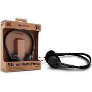 Headphones CANYON CNF-HP02 (20Hz-20kHz, Cable, 1.8m) Black/Gray, Retail