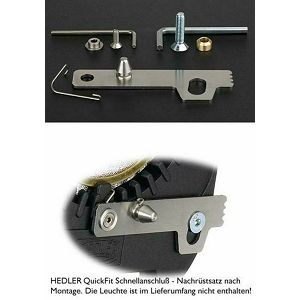Hedler QuickFit Adapter Hs-,H-,D-,+F-Modelle - Retrofit kit including assembly key (7022) Pribor za H,- Hs-, D- + F-light rasvjetu / Classic