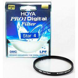 Hoya Pro1 Digital Star 4 filter PRO1D DMC LPF 58mm