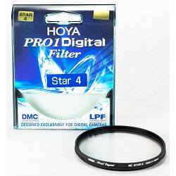 Hoya Pro1 Digital Star 4 filter PRO1D DMC LPF 62mm