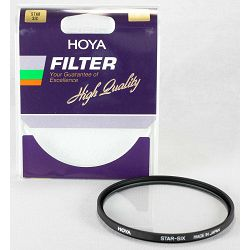 Hoya Star 6 filter 72mm Star-six Six-Cross Flare effect s zvijezdastim efektom svijetla
