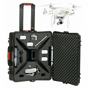 HPRC Hard Case HPRCPHA3-2700W Wheeled kufer za DJI Phantom 3 Quadcopter HPRC2700WPHA3