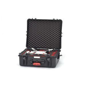 HPRC HPRC2700 Hard Case  for DJI Phantom 2 Vision Phantom 2 vision+ black/red foam kufer kofer Black crni S-PHA2700-03 HPRC2700PHA2 555x459x205cm 2700PHA2