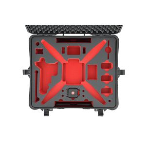 HPRC HPRC2700W Hard Case for DJI Phantom 2 Vision Phantom 2 vision+ black/red foam kufer kofer Black crni S-PHA2700W-03 HPRC2700WPHA2 555x459x256cm 2700WPHA2 2700W