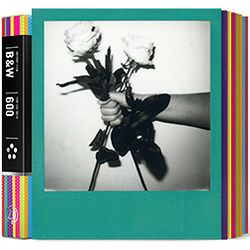 Impossible Black & White 2.0 Instant Film for Polaroid 600 Cameras (Color Frame, 8 Exposures) 600 B/W Hardcolor Edition 2.0 (4164)