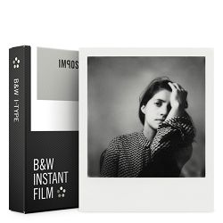 Impossible B&W Film for I-TYPE (Films work with I-Type Cameras - batteryless) (4521)