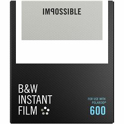 Impossible B&W Film for Polaroid 600 (Films work with 600 Cameras & I-type Cameras) (4516)