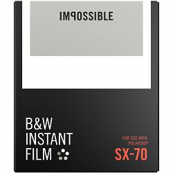 Impossible B&W Film for Polaroid SX-70 (Films work with SX 70 Cameras) (4513)