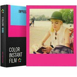Impossible Color Film for 600 Hot Pink Frame foto papir film za Polaroid 600 (4650)