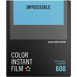 Impossible Color Film for Polaroid 600 Black Frame (Films work with 600 Cameras & I-type Cameras) (4515)