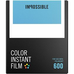 Impossible Color Film for Polaroid 600 (Films work with 600 Cameras & I-type Cameras) (4514)