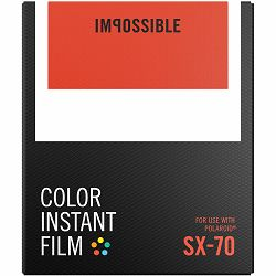 Impossible Color Film for Polaroid SX-70 (Films work with SX 70 Cameras) (4512) replacement for Impossible 2783