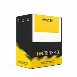 Impossible I-Type Film Triple (2 x Color & 1 x B&W) (Special triple packs) (4598)