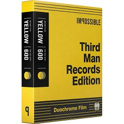Impossible Third Man Records Black & Yellow Duochrome Film 600 Black & Yellow Duochrome (4158)