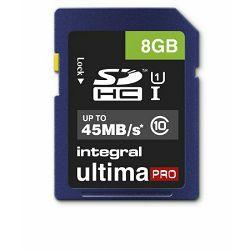 Integral 8GB 45mb/s Ultima PRO SDHC memorijska kartica