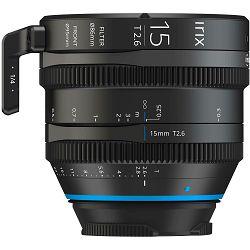 Irix Cine 15mm T2.6 Metric širokokutni objektiv za PL-mount
