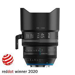 Irix Cine 45mm T1.5 Metric objektiv za PL-mount