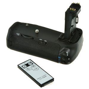 Jupio Battery Grip for Canon EOS 70D 80D BG-E14 držač baterija JBG-C011 za LP-E6 baterije