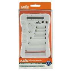 Jupio Battery Tester za testiranje baterija N, AA, AAA, C, D, 9V, V3, 2CR5, P2, 123A (JBT0010)