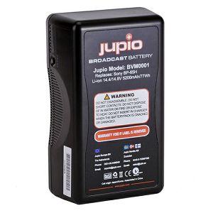 Jupio BVM0001 5200mAh/75Wh V-Mount battery LED Indicator 14.4v Broadcast battery video baterija