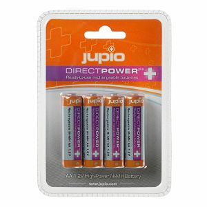 Jupio Direct Power Plus AA Ni-Mh 2500 JRB-AADPP punjive baterije Ready to use