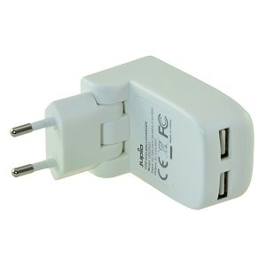 Jupio Dual USB Wallcharger Foldable punjač 17W UDC0020