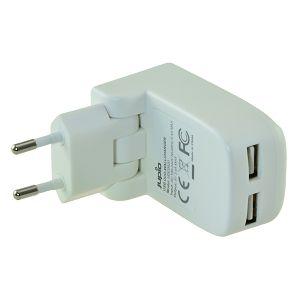 Jupio Dual USB Wallcharger Foldable punjač 17W UDC0020