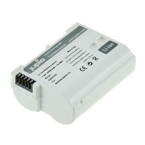 Jupio EN-EL15 Ultra 2000mAh 7.0V Lithium-Ion Battery baterija za Nikon D850, D750, D500, D810, D610, D600, D7200, D7100, D7000, D800, D810A, D800E, 1 V1 (CNI0101V2)