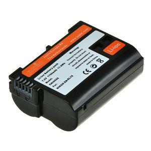 Jupio EN-EL15 1700mAh 7.0V Lithium-Ion Battery baterija za Nikon D850, D750, D500, D810, D610, D600, D7200, D7100, D7000, D800, D810A, D800E, 1 V1 (CNI0020V2)