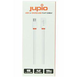 Jupio Flat Cable Micro USB WHITE 1M CAB0010