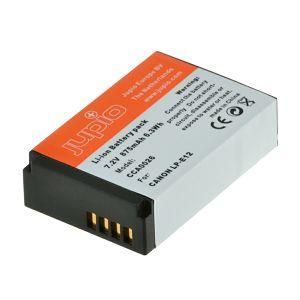 Jupio LP-E12 875mAh 7.2V baterija za Canon EOS 100D, EOS M, EOS M50, Rebel SL1 NB-E12 Lithium-Ion Battery Pack (CCA0026)