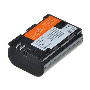 Jupio LP-E6 1700mAh 7.2V Chip baterija za Canon EOS 80D, 7D II, 5DsR, 5D III, 6D, 7D, 70D, 60D, 5D II, XC10, 5Ds, 60Da, LPE6, LP-E6 Lithium-Ion Battery Pack (CCA0020V2)