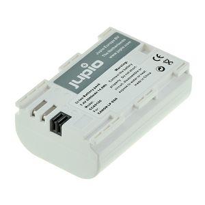 Jupio LP-E6n Ultra 2000mAh baterija za Canon EOS R, RP, 5D IV, 6D II, 80D, 7D II, 5DsR, 5D III, 6D, 7D, 70D, 60D, 5D II, XC10, 5Ds, 60Da, LPE6, LP-E6 Lithium-Ion Battery Pack (CCA0100V2)