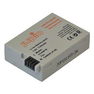 Jupio LP-E8 1120mAh 7.4V Lithium-Ion Battery Pack baterija za Canon EOS 700D, 650D, 600D, 550D (CCA0019)