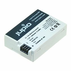 Jupio LP-E8 Ultra 1260mAh 9.32Wh 7.4V Lithium-Ion Battery Pack baterija za Canon EOS 700D, 650D, 600D, 550D (CCA0102)
