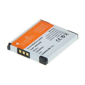 Jupio NB-11L za Canon baterija CCA0025 680mAh Lithium-Ion Battery Pack 3.7V za IXUS 125 HS, 132 HS, 240 HS, PowerShot A3400 IS, A2400 IS, A4000 IS, ELPH 320 HS, ELPH 115 HS 3.7V