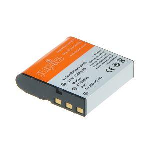 Jupio NP-40 za Casio baterija CCS0003 1100mAh 3.7V