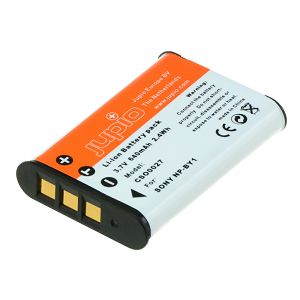 Jupio NP-BY1 (with infochip) za Sony baterija CSO0027 640mAh 3.6V