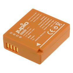 Jupio Orange-Series DMW-BLG10E 900mAh Lithium-Ion Battery Pack baterija za Panasonic Lumix DMC-GF6, DMC-GX7, DMC-ZS100, DMC-LX100 (CPA0203)