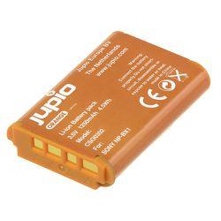 Jupio Orange-Series NP-BX1 1250mAh Lithium-Ion Battery Pack baterija za Sony CyberShot DSC RX-100 DSC RX100 M II M2 DSC RX1r WX300 HX50V HX300 (CSO0202)