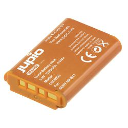 Jupio Orange-Series NP-BX1 1250mAh baterija za Sony CyberShot DSC RX-100 DSC RX100 M II M2 DSC RX1r WX300 HX50V HX300 Lithium-Ion Battery Pack (CSO0202)