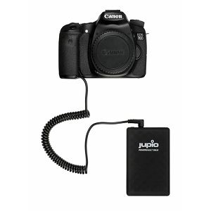 Jupio PowerVault DSLR LP-E6 28Wh powerbank dodatno vanjsko napajanje za Canon fotoaparat (JPV0510)