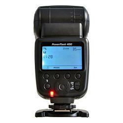 Jupio PowerFlash 400 univerzalna bljeskalica s bežičnim okidačem za Canon Nikon Sony Olympus Fuji Pentax (JPF0400)