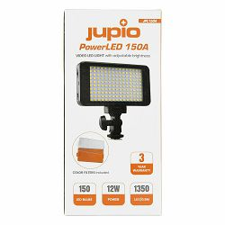 Jupio PowerLED 150A LED 4200mAh panel Video Light rasvjeta za snimanje (JPL150A)